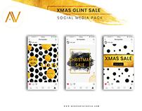 XMAS GLINT SALE TEMPLATE FOR SOCIAL MEDIA