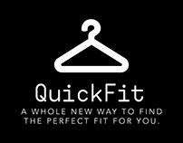 QuickFit - UI/UX