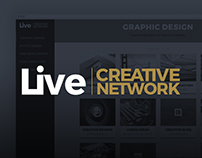 Live Creative Network - Web design
