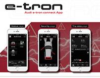 Audi A3 e-tron connect App Overview