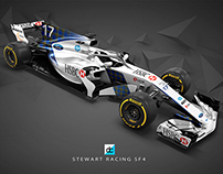 2018 Stewart Racing Livery Concept