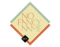 No Fancy Name Font