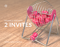 2x Dribbble Invites Giveaway #2