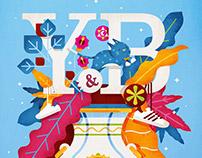 Illustration Design with the Theme of Y&B Studio