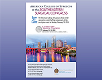 Surgical Congresses Save-the-Date Postcards