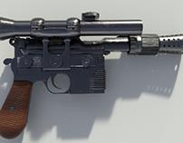 Han Solo's Blaster DL-44