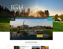Rodd Hotels & Resorts - Web Design