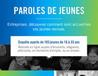 Infographie - Opcalia / Parole de jeunes