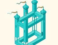Monument Valley - Pixel Art