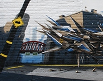 Graffiti session Montréal 2015 Production Smer - ikon