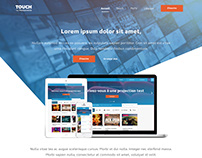 Landing page Touch
