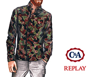 C&A + Replay Collection 2016