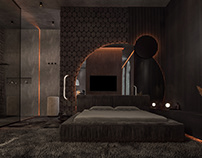 Dark Bedroom Style