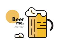 Beer me, honey!