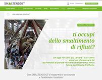 Smaltendo.it Web Site Design