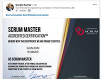 Scrum Institute, Official Scrum Training, Certification