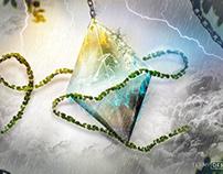 stealing the diamond - Artwork + Tutorial Video