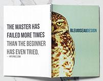 BleuOiseau Design branding style guide
