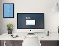 UPTIVA - MOVISTAR - Business messaging admin layout