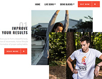 AMP HTML Workout Page Template