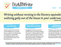 Be All Write