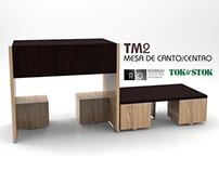 TM2 - Mesa de canto/centro