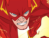 FLASH DC Comic - Personal Project