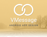 VMessage Android App - UI