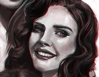 Lana Del Rey Sketches