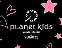 ESTAMPAS PLANET KIDS - VERÃO 20