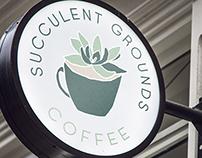 Succulent Grounds Coffee Branding