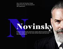 Site for NOVINSKY Commerce & Business Center