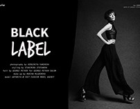 BLACK LABEL for Superior Magazine
