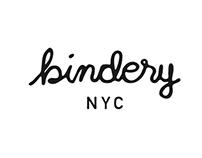 Bindery NYC - Logo
