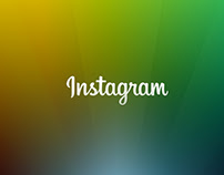 Instagram Redesign with Google Material Design