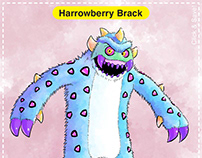 Harrowberry Brack Card