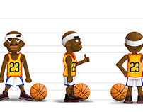 Character Design- BasketBall Game