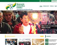 Renovação Carismática Católica Passo Fundo - Webdesign