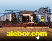 Разработка большого сайта агрохолдинга Alebor Group