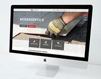 2M Murerservice - Responsive web design