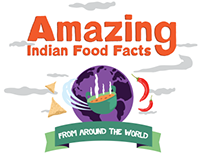 American Express - World food facts infographic