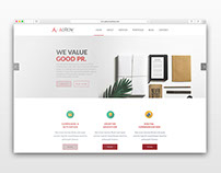 AdRow Website Redesign 2016