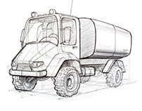 Truck Sketches