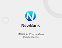 Mobile app for NewBank (Practical work) UI/UX