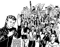 David Bowie / Broadsheet Spread