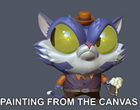 Zbrush Tutorial: Painting from the canvas in Zbrush