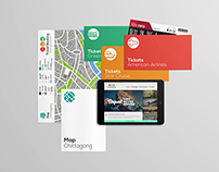 Travel Booking Bangladesh // Branding