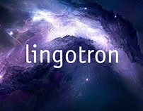 Lingotron. Corporate identity