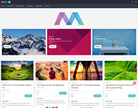 WordPress Masonry Blog Theme For Every Blogger