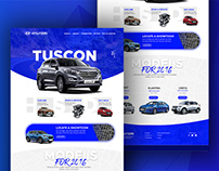 Hyundai Website Redesign Concept